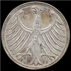 1951D Germany 5M XF/AU (COI-9900)