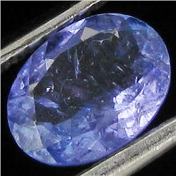 0.86ct Top Color Tanzanite Oval (GEM-38860)