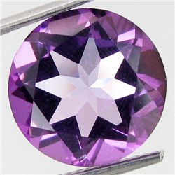 7.45ct Clean Pink Topaz Round (GEM-39540)