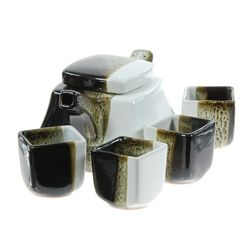 Excellent Glazed Ceramic Tea Set (CLB-217)