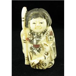 Chinese Handcarved Bone Netsuke (CLB-773)
