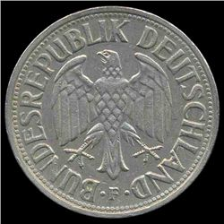 1962F Germany 1 Mark Hi Grade RARE (COI-8156)