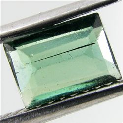 0.65ct Green Cuprian Tourmaline Octagon (GEM-28764C)
