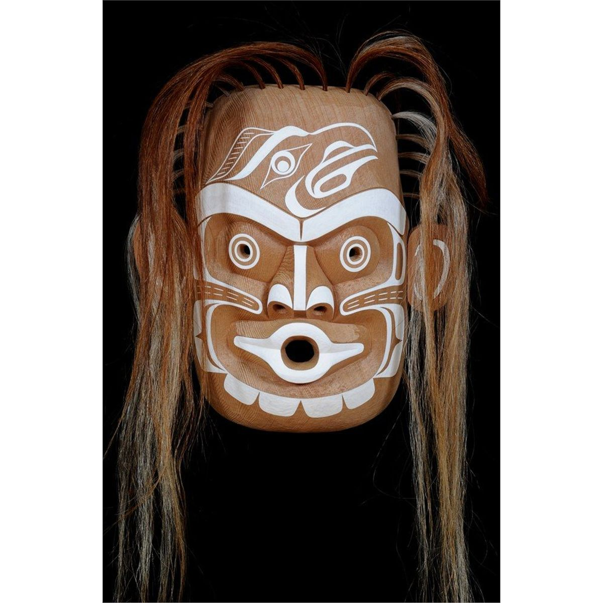Kwaguilth Ghost Mask
