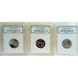 Lot-Statehood Quarters DCAM Gem Proof INB Grade
