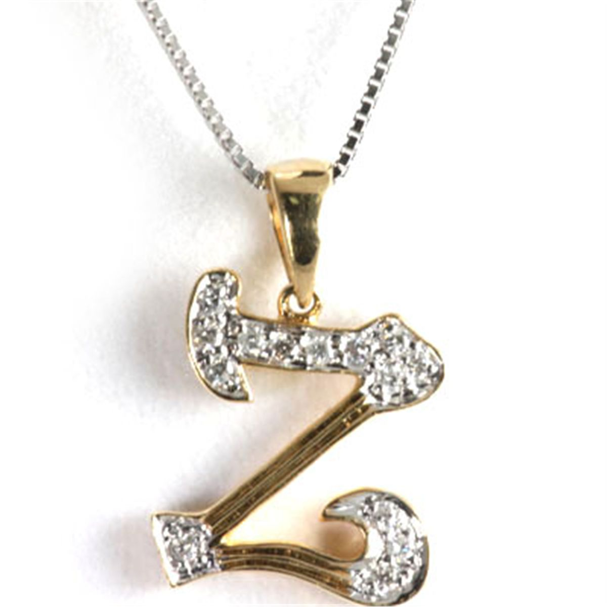 Z Alphabet In Diamond Alphabet Initial Letter z