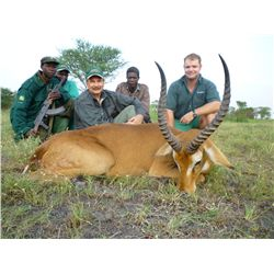 7-day plains game hunt for one hunter and one non-hunter in Uganda - includes trophy fees for one Ug