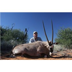 7-day plains game hunt for one hunter and one non-hunter in Namibia - includes trophy fees
