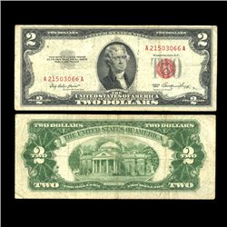 1953 $2 US Note Nice Condition SCARCE (COI-4709)