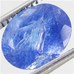 3.14ct Top Color Tanzanite Oval (GEM-38803)