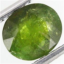 1.67ct Green Tourmaline Oval (GEM-33489B)