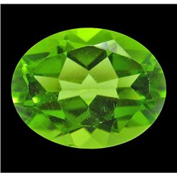 2.51 ct Natural Lustrous Oval Green Peridot (GMR-1055)