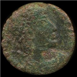 300AD Roman Bronze Coin Higher Grade (COI-9143)