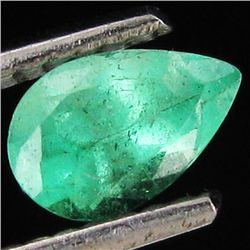 .22ct Top Clear Columbian Emerald Pear (GEM-32632)