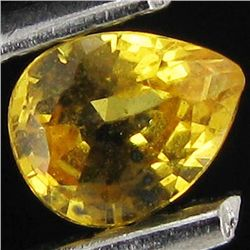 0.2ct Yellow Sapphire Pear (GMR-1114C)