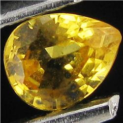 0.3ct Yellow Sapphire Pear (GMR-1114B)