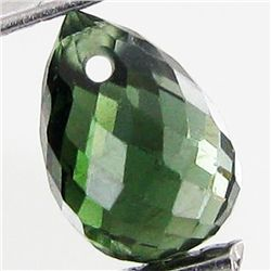1ct Green Tourmaline Briolette (GEM-40599)