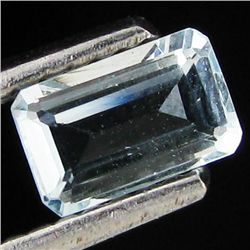 .44ct Sky Blue Santa Maria Aquamarine Octagon (GEM-32949)