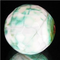 24.6ct Spearmint Fire Agate Sphere Pendant (GEM-35638)