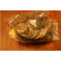 Lot of 50 Wheatback Pennies