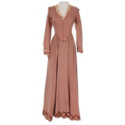 "Mary Pickford ""Mary Marlowe/Carlton"" brown period dress designed by Adrian from Secrets"
