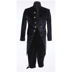 Leslie Howard black velvet period suit designed by William Lambert from Berkeley Square