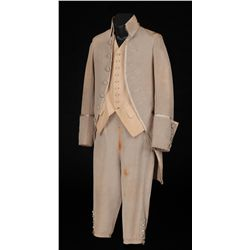 Leslie Howard light grey period outfit designed by William Lambert from Berkeley Square