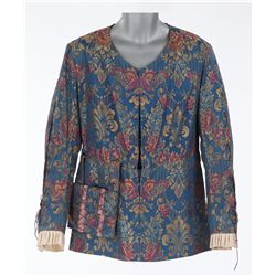 Fredric March blue floral tunic designed by Gwen Wakeling from Affairs of Cellini