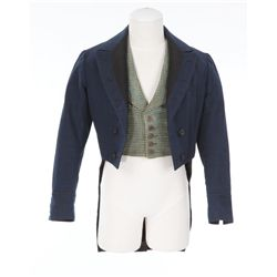 Freddie Bartholomew child period coat and vest designed by Dolly Tree from David Copperfield