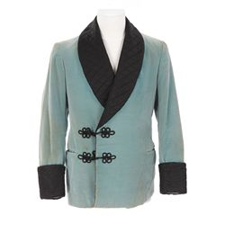 "Freddie Bartholomew ""Ceddie"" teal jacket designed by Sophie Wachner from Little Lord Fauntleroy"