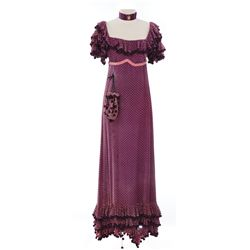 Fay Bainter gold gown and Estelle Winwood purple gown from Quality Street