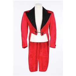 "Mickey Rooney ""Mickey Moran"" red satin cutaway designed by Dolly Tree from Babes in Arms"