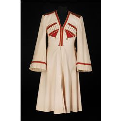 "Willy Castello ""Captain Testoff"" ivory Cossack coat designed by Valles from Balalaika"