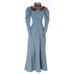 Mary Martin blue wool period dress designed by Edith Head from The Great Victor Herbert
