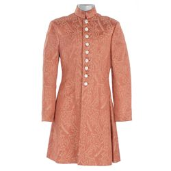 "H. B. Warner ""Maharajah"" salmon brocade long jacket designed by Gwen Wakeling from The Rains Came"