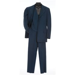 John Payne Navy blue three-piece suit designed by Travis Banton from The Great American Broadcast
