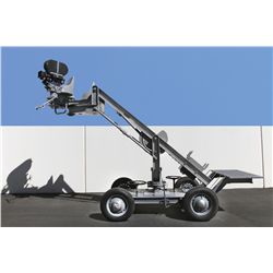 RKO camera crane used by Orson Welles on Citizen Kane & The Magnificent Ambersons w/ Mitchell camera