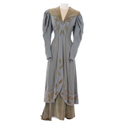 Dolores Costello wool housecoat with under-dress by Edward Stevenson for The Magnificent Ambersons