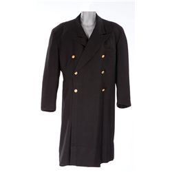 """Oliver Hardy """"Ollie"""" pair of long jackets designed by N'Was McKenzie for Jitterbugs"""
