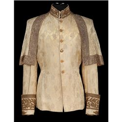 "Rex Harrison ""King Mongkut"" ivory jacket designed by Bonnie Cashin from Anna and the King of Siam"