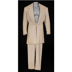 Rex Harrison ivory linen suit from The Foxes of Harrow