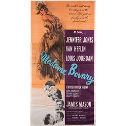 Madam Bovary original U.S. 3-sheet poster folded