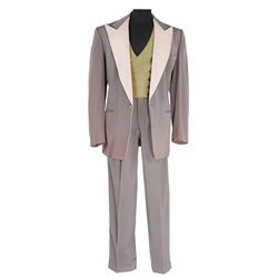 Dan Dailey pewter grey three piece suit designed by Charles Le Maire from My Blue Heaven