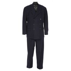 "Broderick Crawford ""Harry Brock"" navy suit designed by Jean Louis from Born Yesterday"