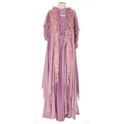 "Ethel Barrymore ""Mary Herries"" mauve chiffon dress designed by Walter Plunkett from Kind Lady"