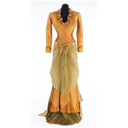 Ann Sheridansilk silk and satin period dress designed by Bill Thomas from Take Me To Town