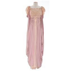 "Jean Simmons ""Diana"" pink dress designed by Emile Santiago from The Robe"