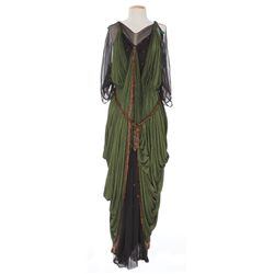"Rosalind Ivan ""Julia"" green Egyptian dress designed by Emile Santiago from The Robe"