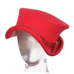 Ethel Merman red hat & boots from There's No Business Like Show Business