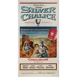 The Silver Chalice original U.S. 3-sheet poster on linen